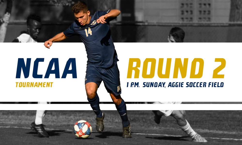 Mens Soccer play in the second round of NCAA