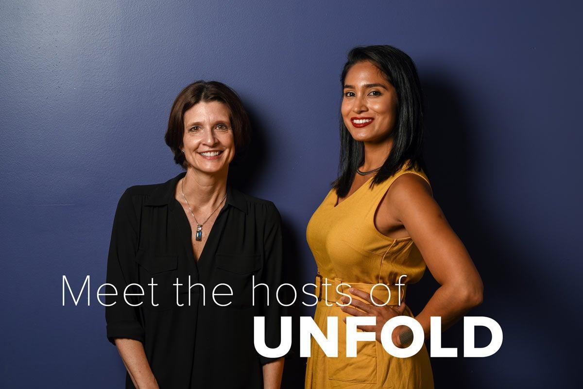 Hosts Alexa Renee and Amy Quinton