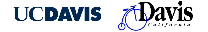 UC Davis and City of Davis logos