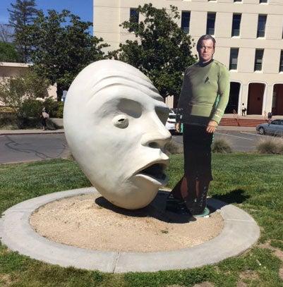 Capt. Kirk and Egghead