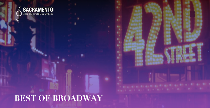 A photo of Times Square's lights with 42nd Street in lights.