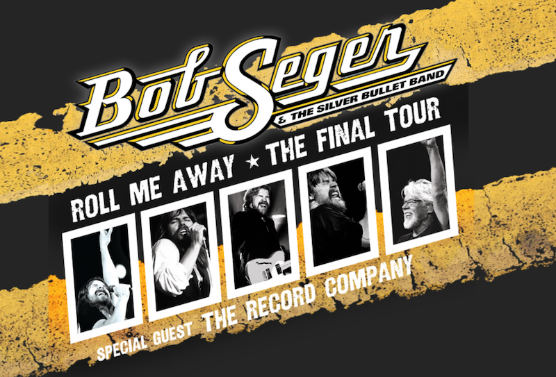 A graphical logo for Bob Seger's final concert tour.