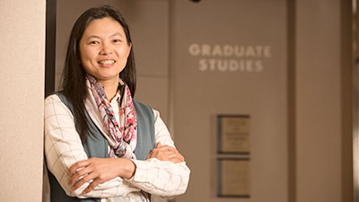 Bai-Yin Chen outside Graduate Studies