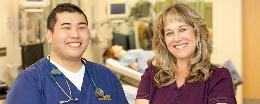Charlie Dharmasukrit and Laura Corson, Nursing Science and Health-Care Leadership