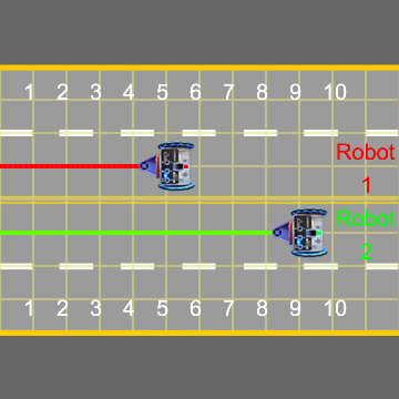 Screenshot of robots