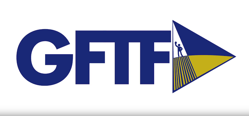 The Ground and Theatre Festival logo.