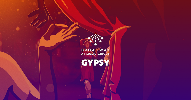 Broadway Circus' graphic for Gypsy.