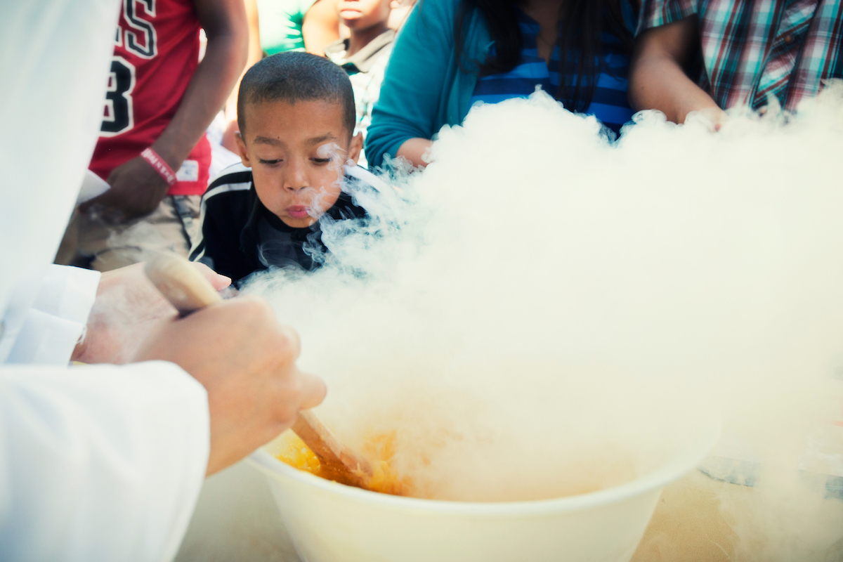 The UC Davis Student Chapter of the American Institute of Chemical Engineering will provide its staple liquid nitrogen-frozen ice cream at this year's UC Davis Picnic Day.