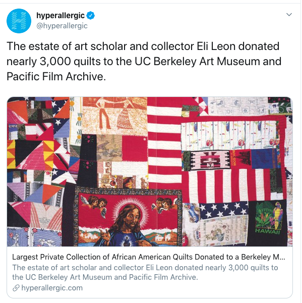Tweet on quilt collection