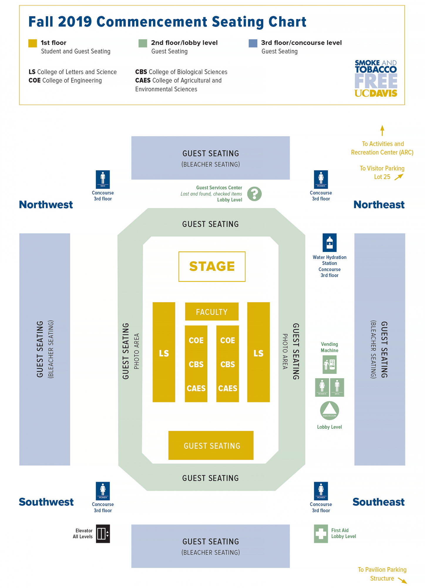 Seating Map Fall 2019