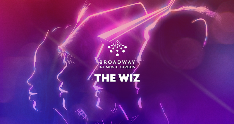 A promotional graphic for the The Wiz.