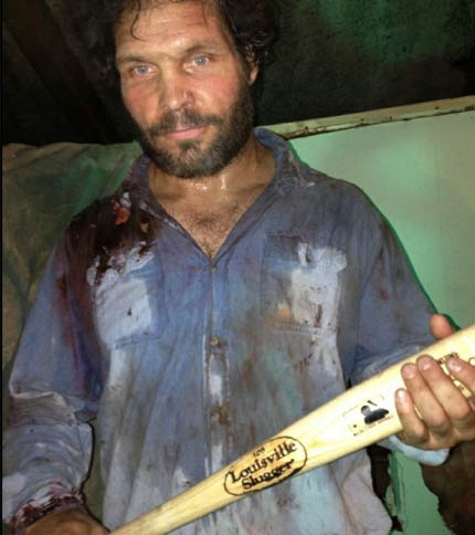Tim Lajcik as the character Big Mex in the film Cold in July