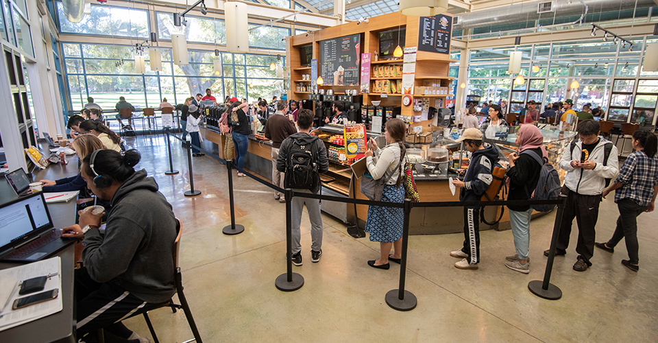 where to eat coffee house uc davis